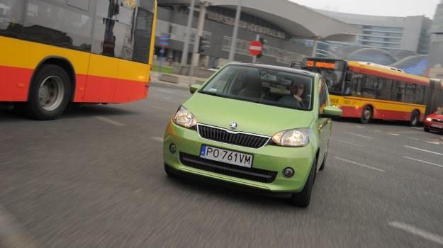 """Skoda Citigo z """"półautomatem"""" to wygoda w mieście, ale w tej konfiguracji nie cierpi agresywnej jazdy. /Motor"""