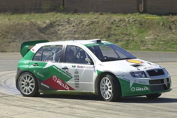Skoda Fabia WRC (kliknij) /INTERIA.PL