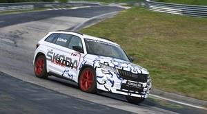 Skoda Kodiaq RS z rekodem na Nurburgringu