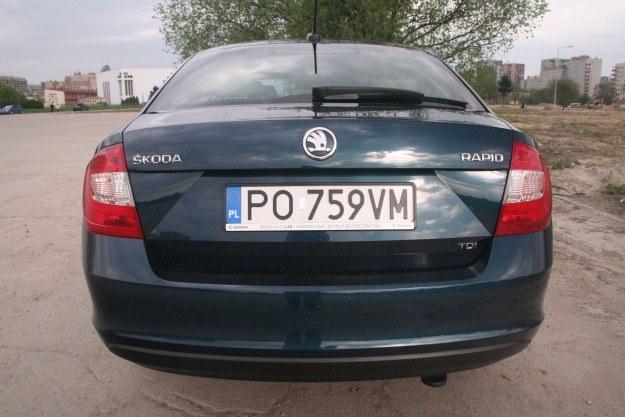 Skoda Rapid /INTERIA.PL