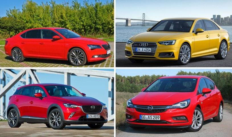 Skoda Superb, Audi A4, Mazda CX-3, Opel Astra - to z pewnością jedni z faworytów do tytułu COTY 2016 /