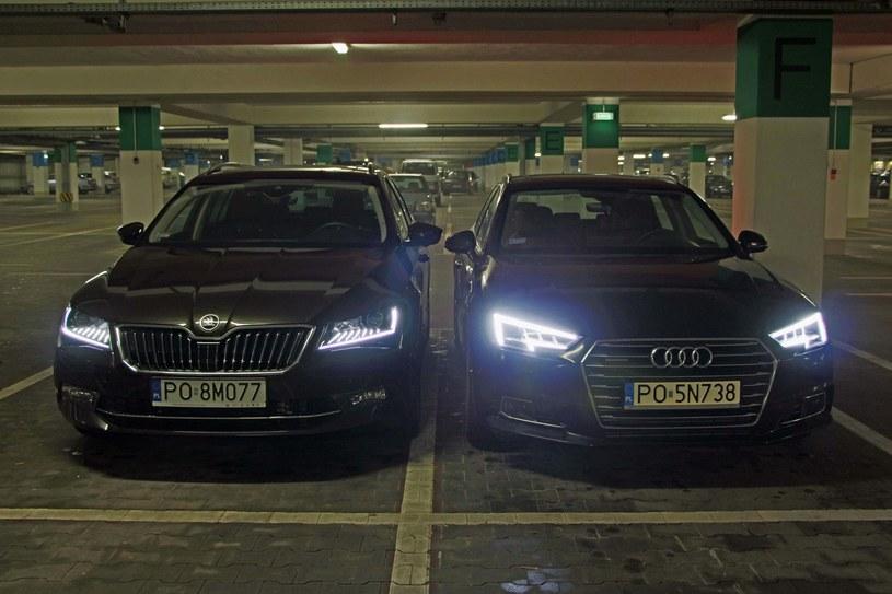 Skoda Superb i Audi A4 /INTERIA.PL