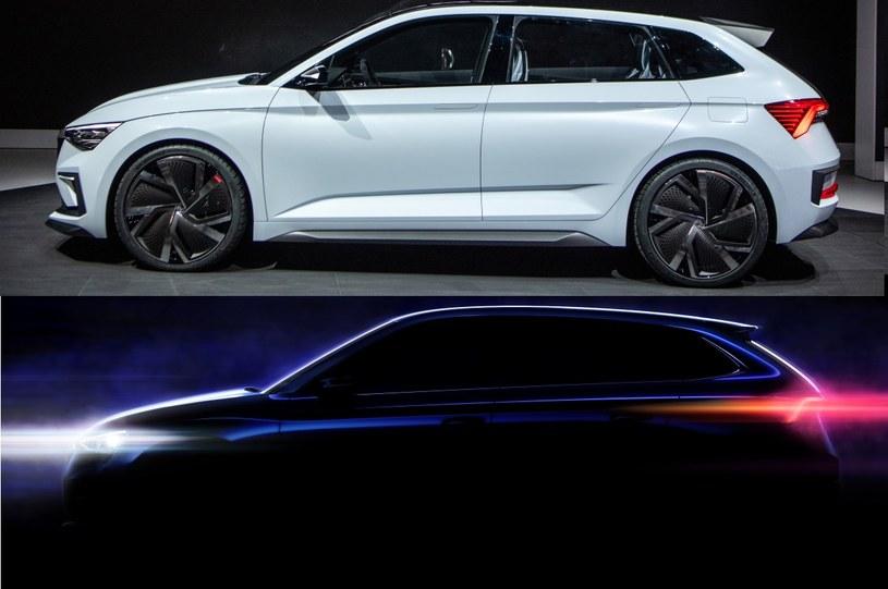 Skoda Vision RS oraz nowy model /
