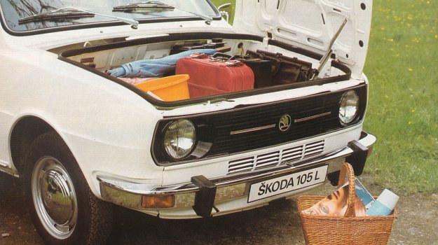 Skodę 105 produkowano w latach 1976-1988. /Skoda