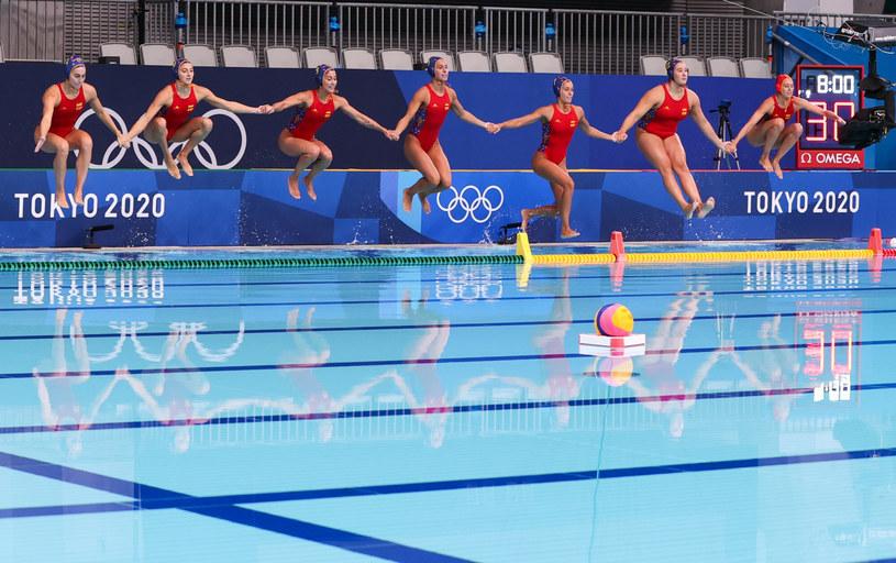 Skoki do wody na IO w Tokio /Wang Jing /East News