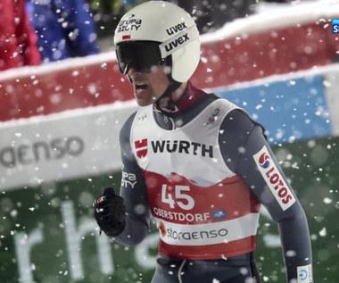 Skoki narciarskie. Eksperci skomentowali konkurs na dużej skoczni (POLSAT SPORT). Wideo