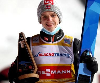 Skoki narciarskie. Halvor Egner Granerud w elitarnym gronie
