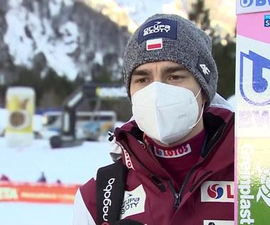 Skoki Narciarskie. Jakub Wolny ocenił swoje skoki: Od najgorszego do najlepszego (POLSAT SPORT). Wideo