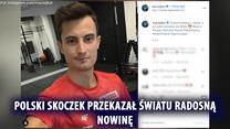 """Skoki narciarskie. Maciej Kot zostanie ojcem. """"Kocur junior w drodze"""". Wideo"""