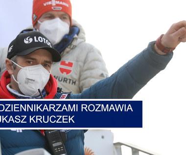 Skoki narciarskie. MŚ w Oberstdorfie. Łukasz Kruczek po konkursie drużynowym kobiet. Wideo