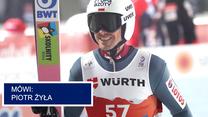 Skoki narciarskie. MŚ w Oberstdorfie. Piotr Żyła po konkursie. Wideo