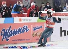 Skoki narciarskie. MŚ w Oberstdorfie. Szalona radość Piotra Żyły i całej kadry