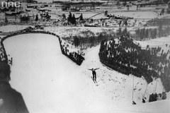 Skoki narciarskie na archiwalnych zdjęciach. Piękne ujęcia!