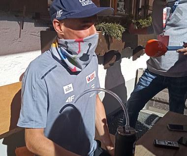 Skoki narciarskie. Piotr Żyła: Kurczak-system nie zawsze działa. Wideo