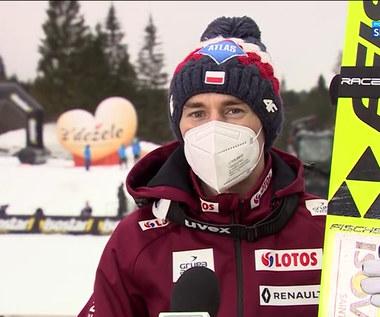Skoki narciarskie. Polscy skoczkowie podsumowali występy w Planicy (POLSAT SPORT). Wideo