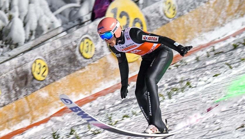 Skoki narciarskie - PŚ w Ruce. Piotr Żyła drugi, a Dawid Kubacki trzeci w sobotnim konkursie
