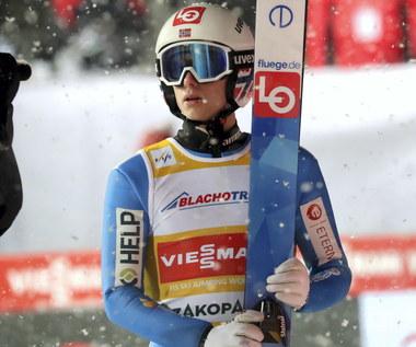 Skoki narciarskie - PŚ w Zakopanem. Halvor Egner Granerud wygrał niedzielny konkus