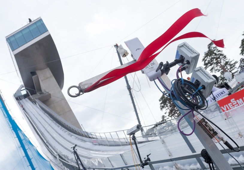 Skoki narciarskie /Jakob Gruber /Newspix