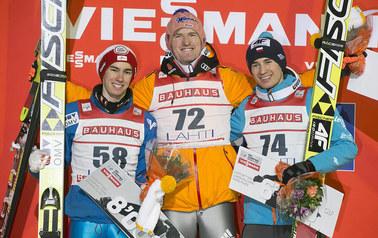 Skoki w Lahti: Kamil Stoch zajął trzecie miejsce. Severin Freund zwycięzcą