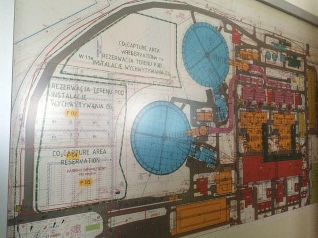 Skomplikowany plan budowy bloków 5 i 6 Elektrowni Opole /Michał Dobrołowicz /RMF FM