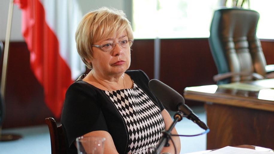 Skoordynowana akcja miała na celu dyskredytację m.in. prezes SN Małgorzaty Gersdorf /Michał Dukaczewski /RMF FM
