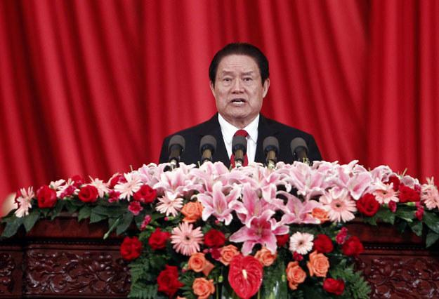 Skorumpowany były minister bezpieczeństwa publicznego Zhou Yongkang został skazany na dożywotnie więzienie /AFP