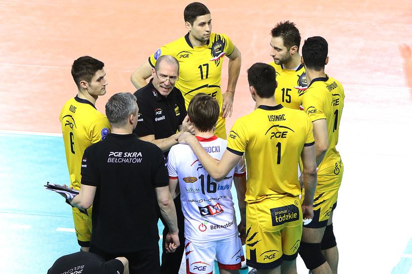 Skra odpadła z Ligi Mistrzów /www.cev.eu