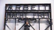 """Skradziona brama z napisem """"Arbeit macht frei"""" wraca do Dachau"""