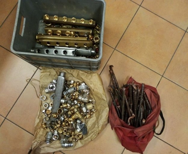 Skradzione narzędzia /Rzeszowska policja /Policja
