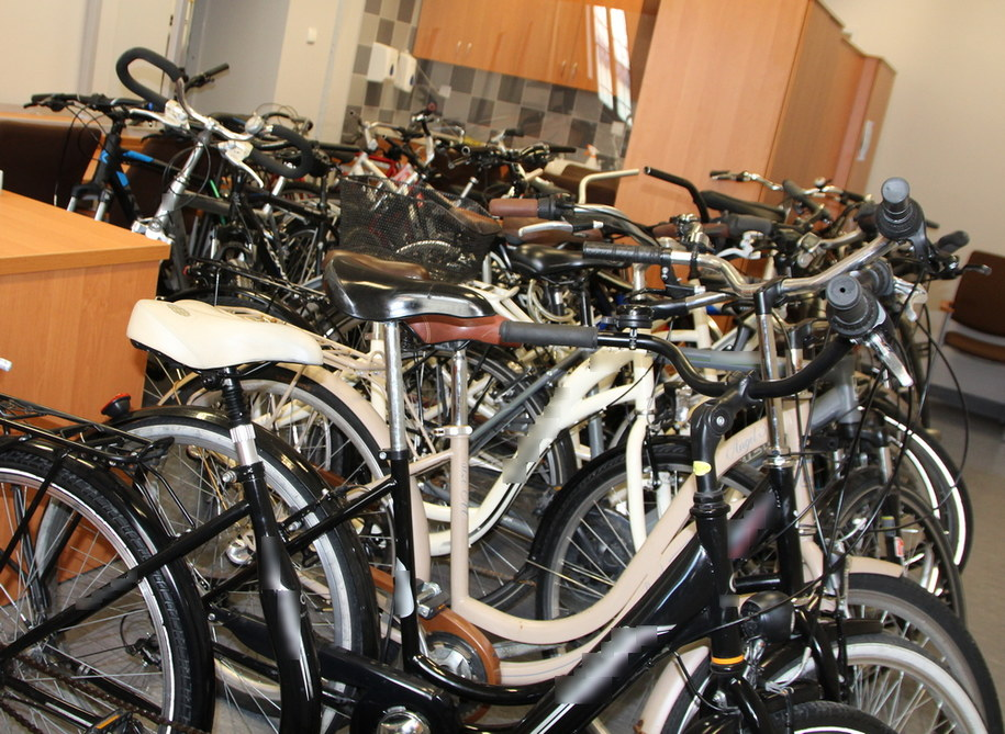 Skradzione rowery /Policja