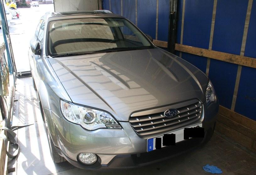 Skradzione Subaru Outback /Policja