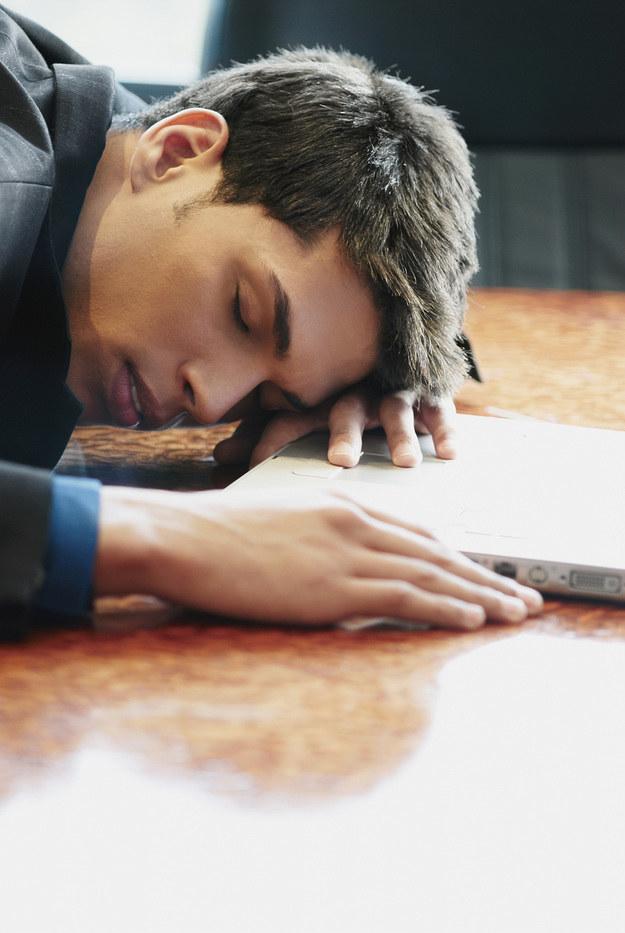 skrajne zmęczenie /© Photogenica