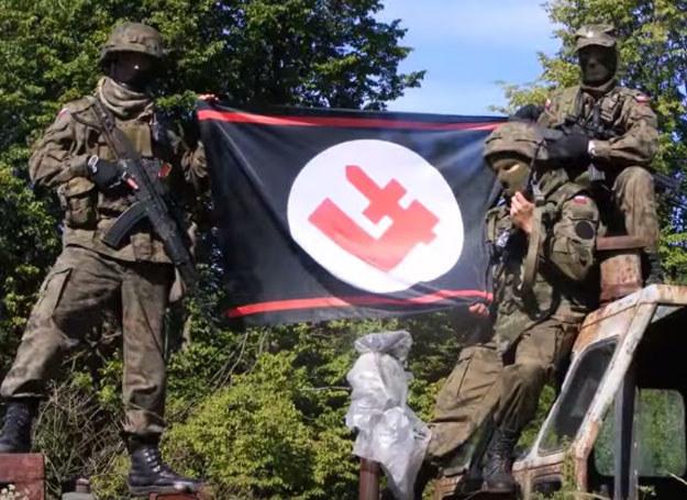 "Skreen z filmu ""Ochotnicze patrole antybanderowskie"" /YouTube /INTERIA.PL"