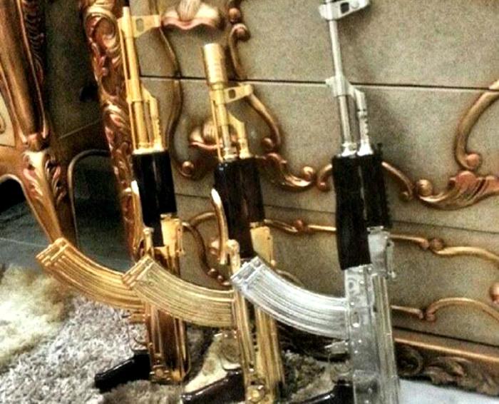 Skromna kolekcja broni należącej do Ortiza /materiały prasowe