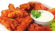 Skrzydełka kurczaka w cieście z sosem miętowo-cytrynowym