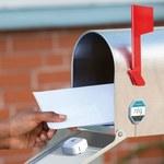 Skrzynka pocztowa informująca o nowej poczcie