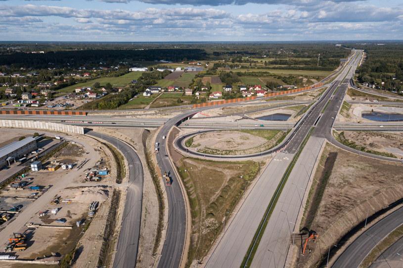 Skrzyżowanie A2 i S17 pod Warszawą /Mateusz Grochocki /East News