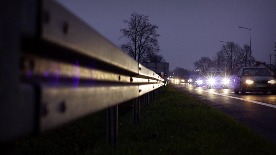 Skrzyżowanie dróg krajowych nr 17 i 48 w Moszczance /Michał Dukaczewski, RMF FM /RMF FM