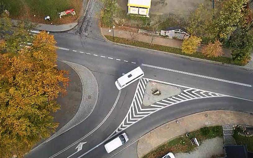 Skrzyżowanie ulic Chałubińskiego i Zamoyskiego w Zakopanem /
