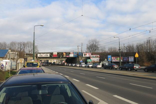 Skrzyżowanie ulic Wielicka - Powstańców Śląskich - Nowohucka /Józef Polewka (RMF FM) /RMF FM