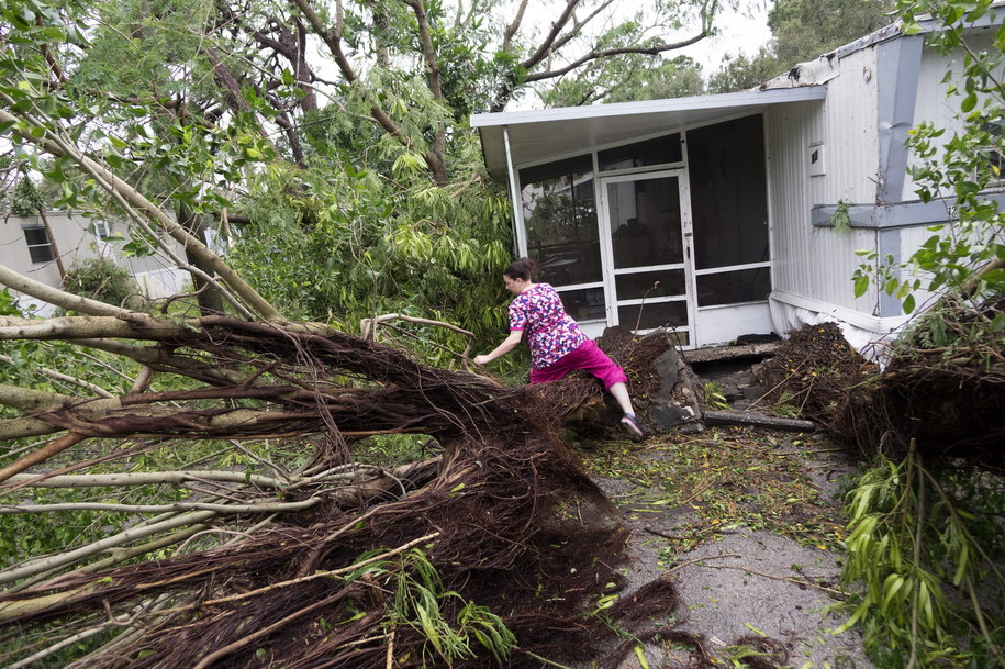 Skutki huraganu Matthew /CRISTOBAL HERRERA /PAP/EPA