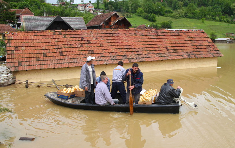 Skutki powodzi w Serbii /DRAGAN KARADAREVIC /PAP