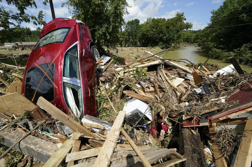 Skutki powodzi w Tennesee /AP/Associated Press/East News /East News