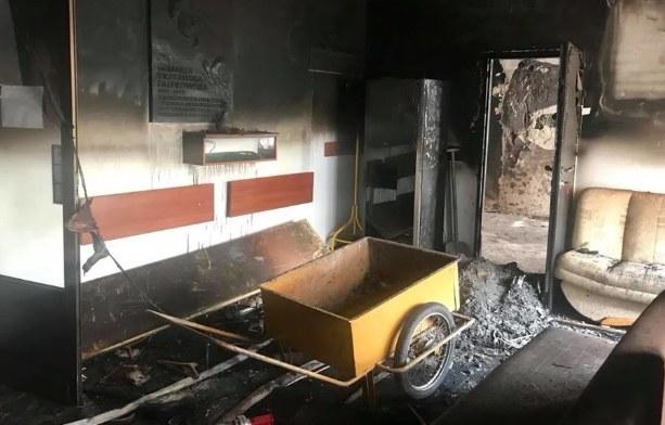 Skutki pożaru w lipcu 2018 roku /foto. Facebook/OREW.Katowice /Archiwum RMF FM