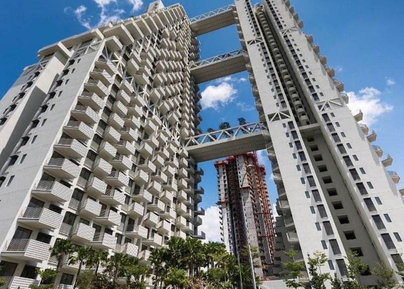 Sky Habitat w Singapurze /materiały prasowe