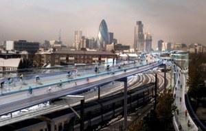 SkyCycle - rowerowa autostrada w centrum Londynu