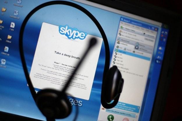 Skype kolejny raz stał się celem ataku cyberprzestępców /AFP