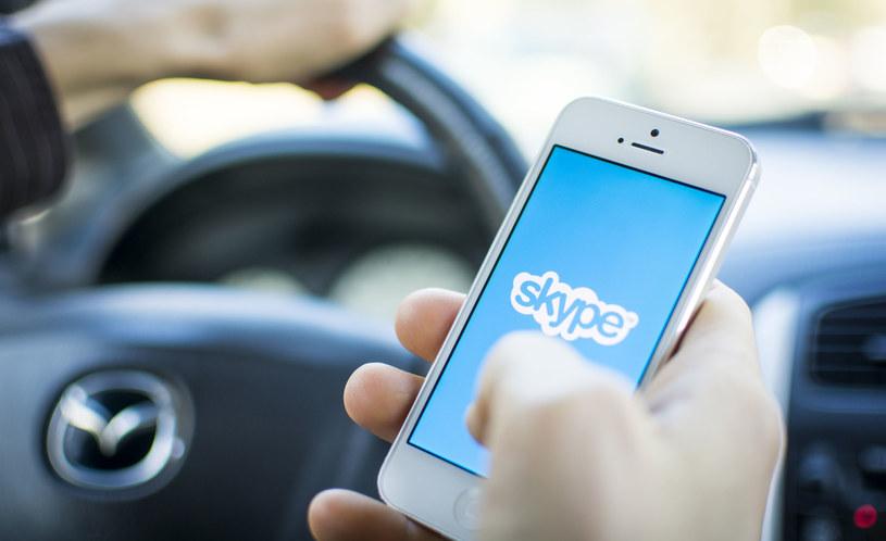 Skype to wciąż popularny komunikator na urządzenia mobilne /123RF/PICSEL