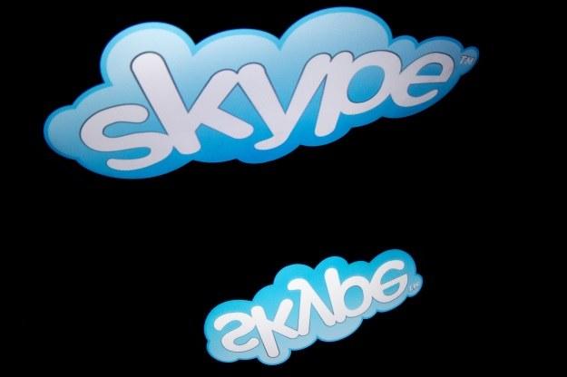 Skype z nową funkcją. Będziecie korzystać? /AFP