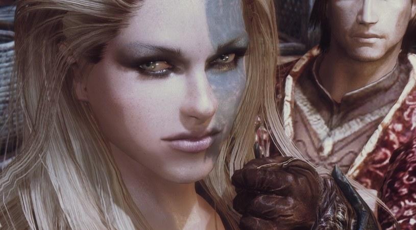 Skyrim - gragment moda ulepszającego efekty wizualne w grze /materiały źródłowe